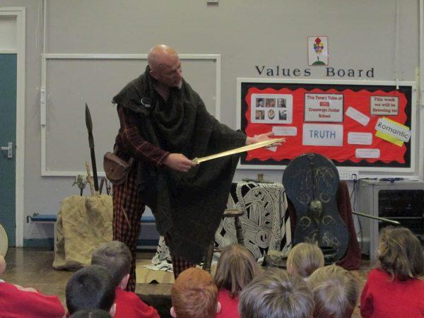 Clive Pigg, a Stone Age Man